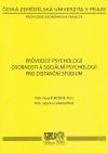 Průvodce psychologií osobnosti a sociální psychologií pro distanční studium