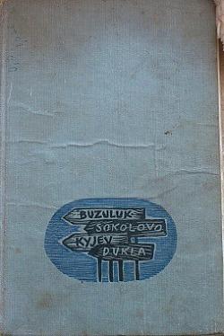 Šipky k domovu obálka knihy