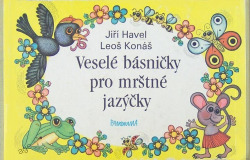 Veselé básničky pro mrštné jazýčky obálka knihy