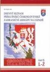 Jmenný seznam příslušníků československé zahraniční armády na Západě II