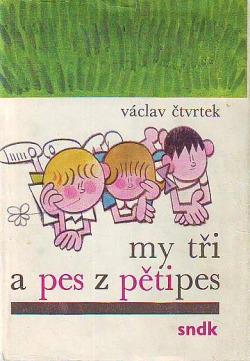My tři a pes z Pětipes obálka knihy