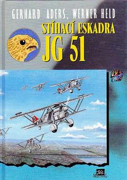 Stíhací eskadra JG 51 obálka knihy