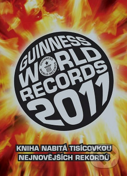 Guinness World Records 2011 obálka knihy