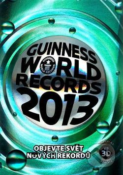 Guinnessova kniha rekordov 2013 obálka knihy