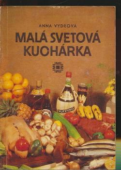 Malá svetová kuchárka obálka knihy