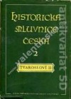 Historická mluvnice česká II - Tvarosloví II obálka knihy