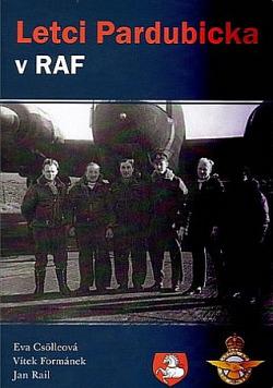 Letci Pardubicka v RAF obálka knihy