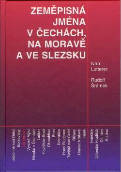 Zeměpisná jména v Čechách, na Moravě a ve Slezsku obálka knihy