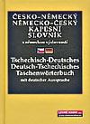 Česko-německý/Německo-český kapesní slovník (s německou výslovností)