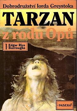 Tarzan z rodu Opů obálka knihy