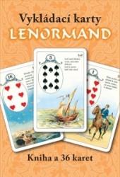 Vykládací karty Lenormand obálka knihy