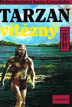 Tarzan vítězný obálka knihy