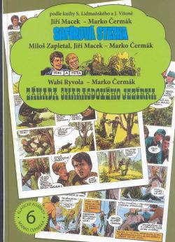 Safírová stezka / Tom a Péťa / Záhada smaragdového jezírka obálka knihy