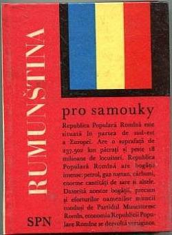 Rumunština pro samouky obálka knihy