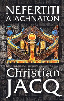 Nefertiti a Achnaton obálka knihy