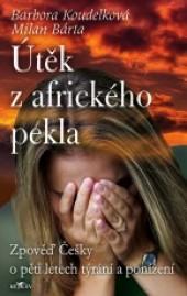 Útěk z afrického pekla obálka knihy