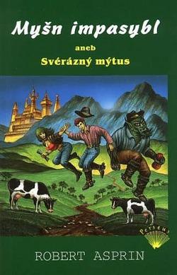 Myšn Impasybl aneb Svérázný mýtus obálka knihy