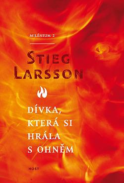 Dívka, která si hrála s ohněm obálka knihy