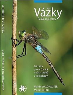 Vážky České republiky - příručka pro určování našich druhů a jejich larev obálka knihy