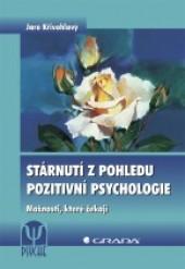Stárnutí z pohledu pozitivní psychologie obálka knihy