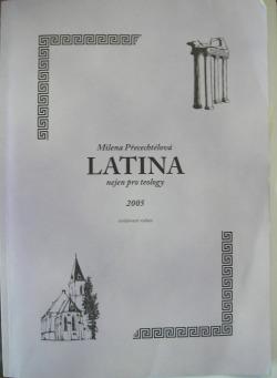 Latina nejen pro teology obálka knihy