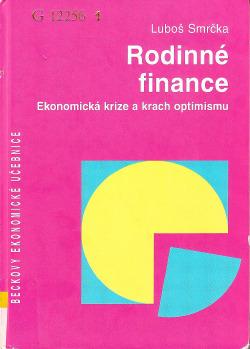 Rodinné finance, Ekonomická krize a krach optimismu obálka knihy
