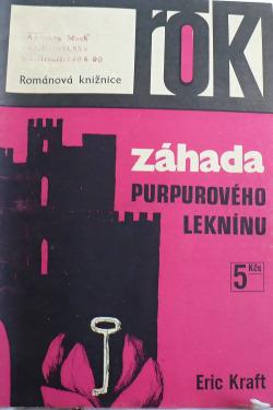 Záhada purpurového leknínu obálka knihy