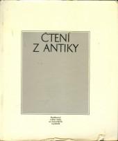 Čtení z antiky - Výbor z rozhlasové Antické knihovny