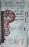 Ze starých českých kronik