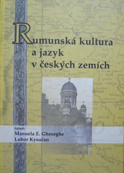 Rumunská kultura a jazyk v českých zemích obálka knihy