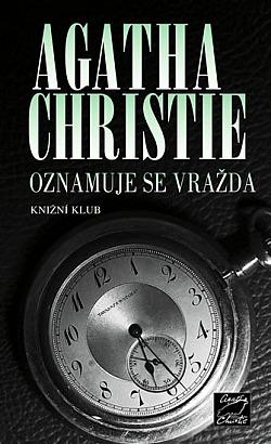 Oznamuje se vražda obálka knihy