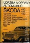 Údržba a opravy automobilů Škoda 440, 445, 450, Octavia, Octavia Super, Octavia Touring Sport, Octavia Touring Sport 1200, Octavia