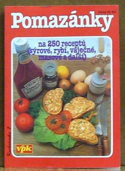 Pomazánky – na 250 receptů obálka knihy