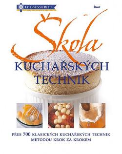 Škola kuchařských technik obálka knihy