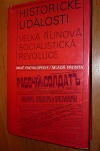 Historické události - Velká říjnová socialistická revoluce