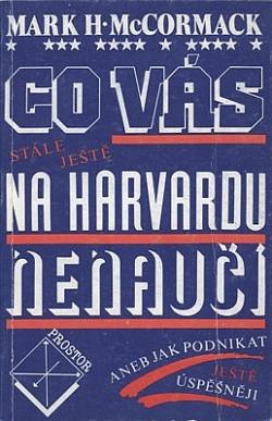 Co vás stále ještě na Harvardu nenaučí obálka knihy