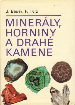 Minerály, horniny a drahé kamene obálka knihy