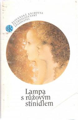 Lampa s růžovým stínidlem obálka knihy