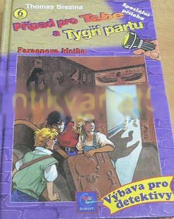 Faraonova kletba obálka knihy