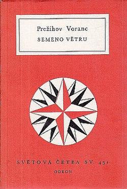 Semeno větru obálka knihy