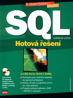 SQL Hotová řešení obálka knihy