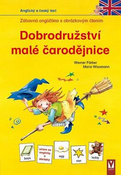 Dobrodružství malé čarodějnice obálka knihy