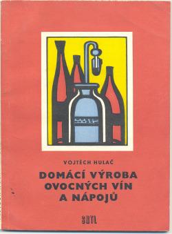 Domácí výroba ovocných vín a nápojů obálka knihy