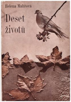 Deset životů obálka knihy