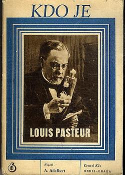 Luis Pasteur obálka knihy