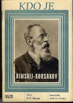 Rimskij-Korsakov obálka knihy