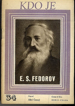 E. S. Fedorov obálka knihy
