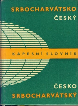 Srbocharvátsko-český a česko-srbocharvátský kapesní slovník obálka knihy