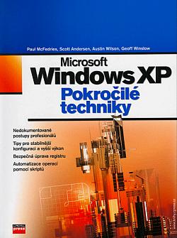 Microsoft Windows XP Pokročilé techniky obálka knihy