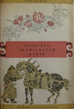 Desatero skořicových květů obálka knihy